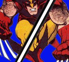 Wolverine Sliced (Geometric) Sticker