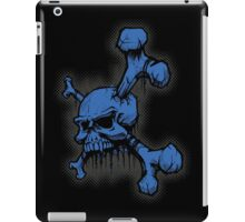 Blue Skull iPad Case/Skin