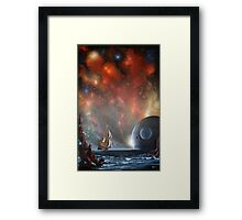 Last Voyage of Columbus (Edge of Eternity) Framed Print