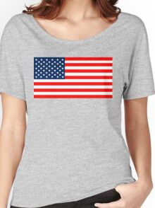 Flag of the United States of America Women's Relaxed Fit T-Shirt