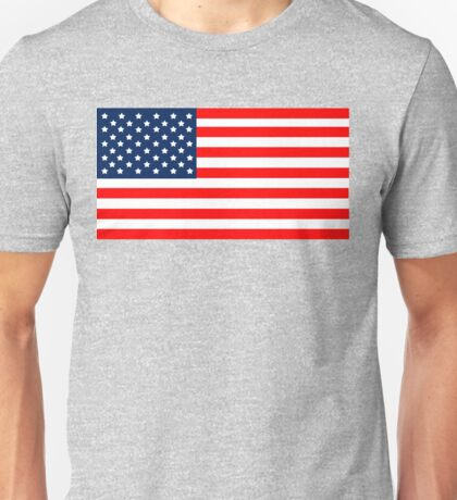 Flag of the United States of America Unisex T-Shirt