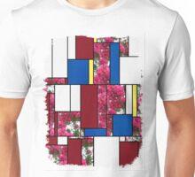 Crape Myrtle Art Rectangles 4 Unisex T-Shirt