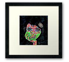 PaperMonster Inkblot Framed Print