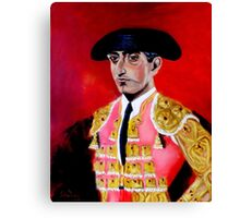 """MANOLETE"" Canvas Print"