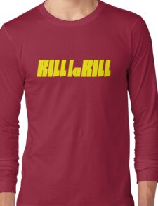 Kill La Kill - Yellow Long Sleeve T-Shirt