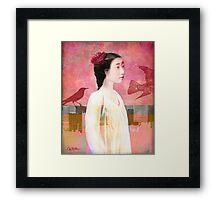 Velvet Sky Framed Print