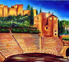 Alcazaba & Roman Theatre by Manuel Sanchez