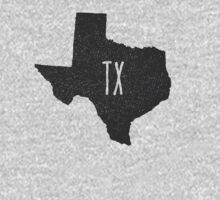 Kids Texas Pride - TX Tshirt - Hand Illustrated One Piece - Short Sleeve
