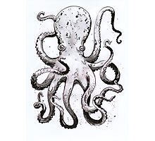 Inky Octopus Photographic Print