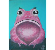 A rare Pink Lady Toad Photographic Print