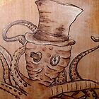 Steampunk Octopus by chelleill