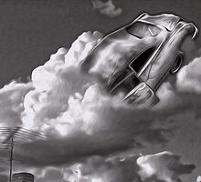 Car Crash in the Clouds #02 by Gregory Dyer