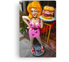 Hamburger Mary Canvas Print