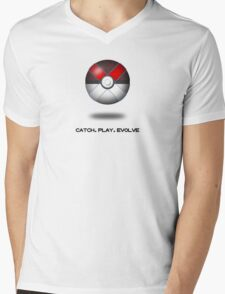 Pokemon X Mens V-Neck T-Shirt