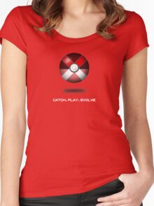 Pokemon X Women's Fitted Scoop T-Shirt