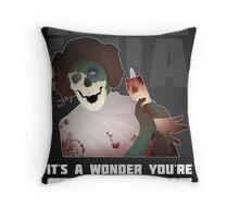 Zombie Leia Throw Pillow