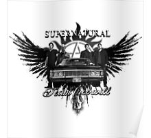 Supernatural Team Free Will Poster