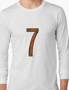 Number seven Long Sleeve T-Shirt