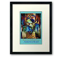 MA_Nefertiti_4 Framed Print