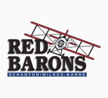 Scranton Wilkes Barre Red Barons baseball logos T-Shirts ,Stickers by boomer321sasha