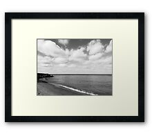 Old Woman Creek - Black And White 2 Framed Print