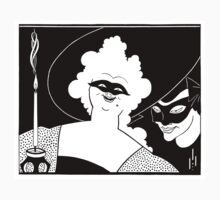 Aubrey Beardsley - Masquerade by William Martin