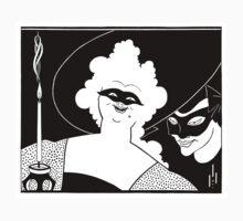 Aubrey Beardsley - Masquerade by William Martin