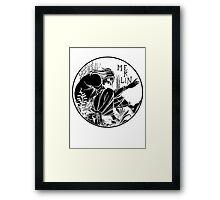 Aubrey Beardsley - Merlin Framed Print