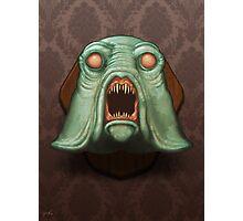 Swamp Alien Photographic Print