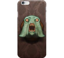 Swamp Alien iPhone Case/Skin