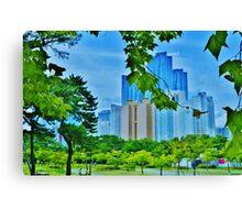 Busan, South Korea Canvas Print