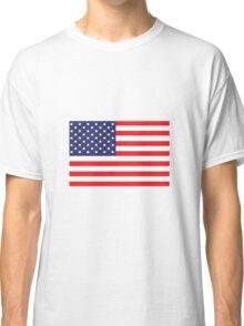 Stars and Stripes American Flag Classic T-Shirt