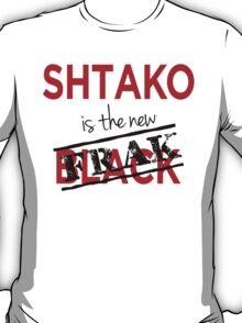 Shtako is the New Frak - Defiance & Battlestar Slang - Science Fiction Geek Speak - Parody of New Black T-Shirt
