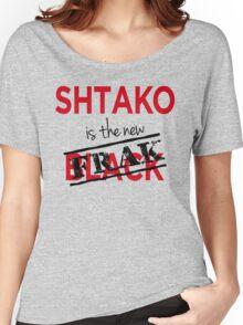 Shtako is the New Frak - Defiance & Battlestar Slang - Science Fiction Geek Speak - Parody of New Black Women's Relaxed Fit T-Shirt