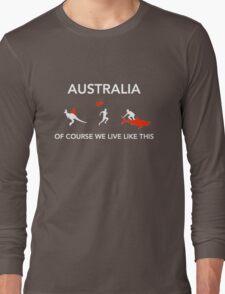 AUS  Long Sleeve T-Shirt