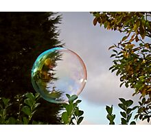 Colour Bubble Photographic Print