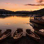 Waterhead Sundown by John Dunbar