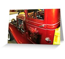 Painted door Old Ford Truck Greeting Card