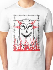 Evil pumpkin mini Unisex T-Shirt