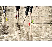 Beach Games Photographic Print
