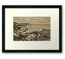 Dragon Temple  Framed Print