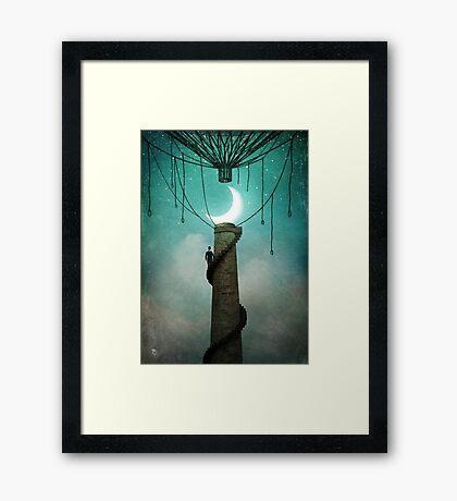 Enter the Sky Framed Print
