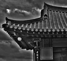 Korean Temple Roof by Fike2308