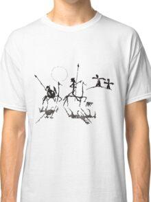 Don Quijote y Sancho Panza Classic T-Shirt
