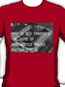 Manchester United Soccer Club T-Shirt