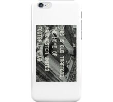 Manchester United Soccer Club iPhone Case/Skin