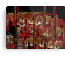 abstraction from destruction I Metal Print