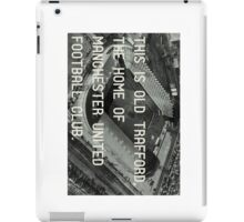 Manchester United Soccer Club iPad Case/Skin