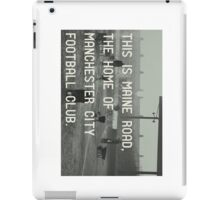 Manchester City Football Club iPad Case/Skin