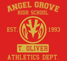 Angel Grove H.S. (White Ranger Edition) Kids Clothes
